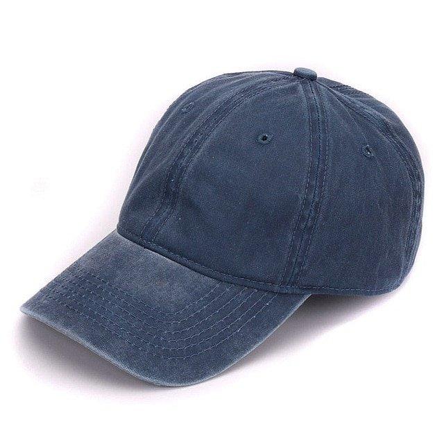 HATLANDER Plain dyed sand washed 100% soft cotton cap blank baseball ... 59a6475b1abe