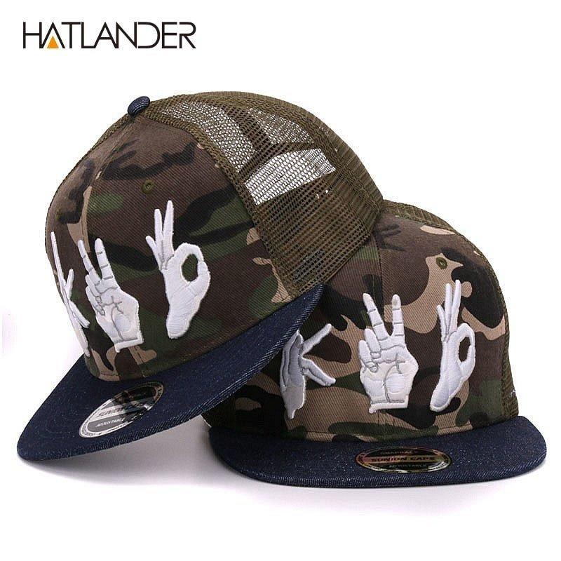 3648eafd ... baseball caps summer sun hats mesh hip hop snapbacks 3D AK embroidery  camo trucker caps for mens. Sale! 🔍. https://capshop.store/