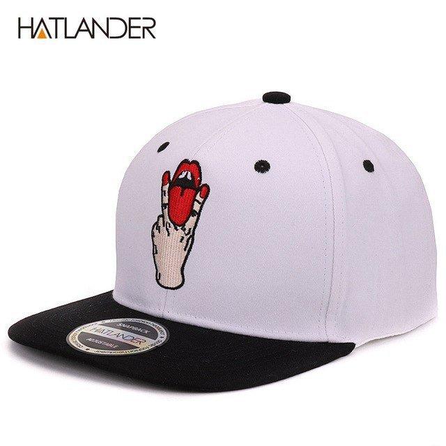 0a6a6c8cd05 Hatlander Girls letter baseball caps bboy gorras planas outdoor ...