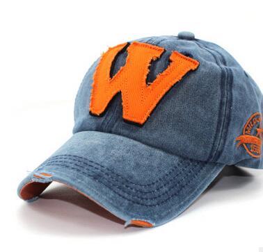 1pcs/lot free shipping korean style man casual w baseball cap female cotton summer w baseball cap 1