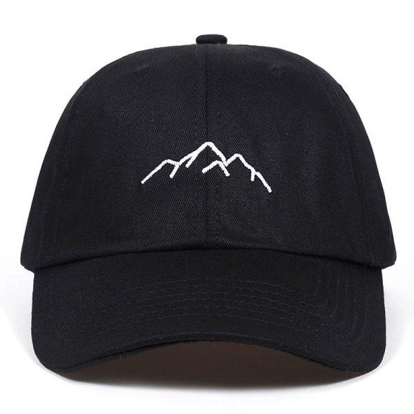 2020 new Mountain range embroidery Mens Womens Baseball Caps Adjustable Snapback Caps Fashion dad Hats Bone Garros 2