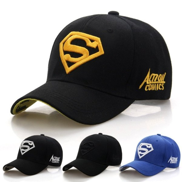 2020  New Letter Superman Cap Casual Outdoor Baseball Caps For Men Hats Women Snapback Caps For Adult Sun Hat Gorras wholesale 2