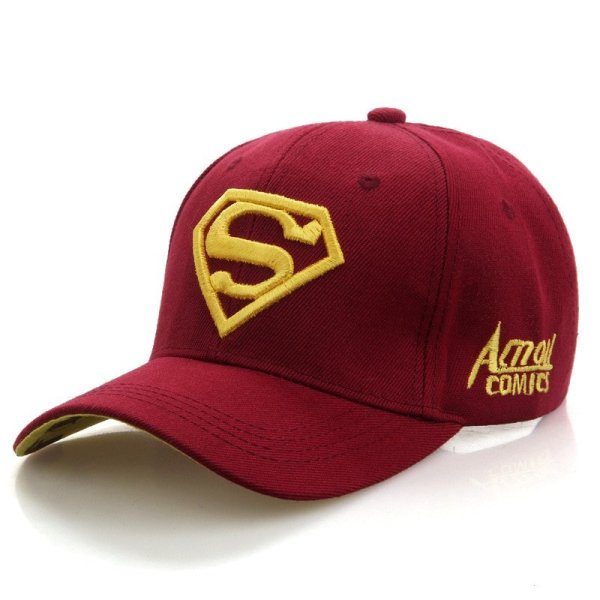 2020  New Letter Superman Cap Casual Outdoor Baseball Caps For Men Hats Women Snapback Caps For Adult Sun Hat Gorras wholesale 6