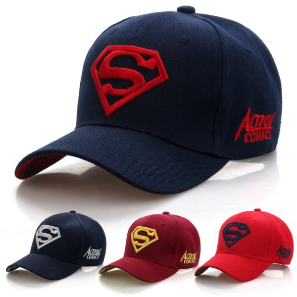 2020  New Letter Superman Cap Casual Outdoor Baseball Caps For Men Hats Women Snapback Caps For Adult Sun Hat Gorras wholesale 1