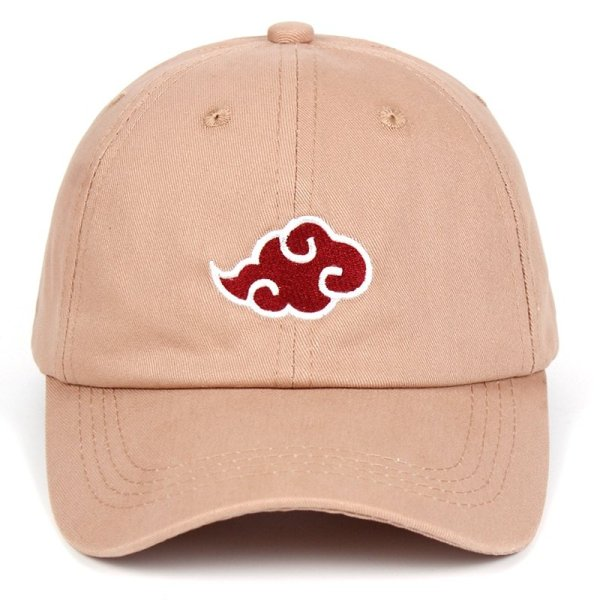 Anime Lovers Akatsuki Logo Dad Hat Uchiha Family Logo 100% Cotton Embroidery Baseball Caps Black Snapback Hat Red Cloud 3