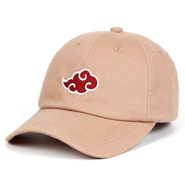 Anime Lovers Akatsuki Logo Dad Hat Uchiha Family Logo 100% Cotton Embroidery Baseball Caps Black Snapback Hat Red Cloud 4