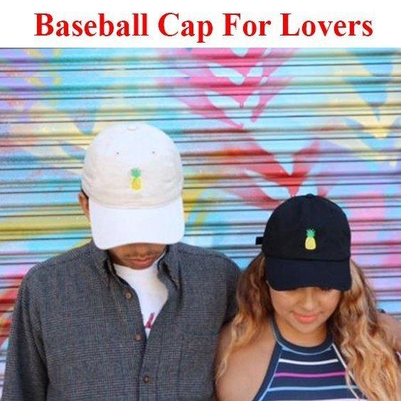 Baseball Cap Women Men Pineapple Embroidery dad hat Trucker Fashion Unisex Snapback hip hop cap Summer Hats Streetwear casquette 5