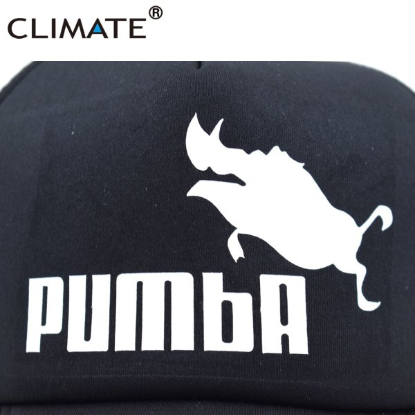CLIMATE Funny Pumba Trucker Cap Lion King Cap Hakuna Matata Hat Men Baseball Caps Cool Summer Mesh Trucker Cap Hat for Men 9