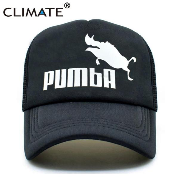 CLIMATE Funny Pumba Trucker Cap Lion King Cap Hakuna Matata Hat Men Baseball Caps Cool Summer Mesh Trucker Cap Hat for Men 7