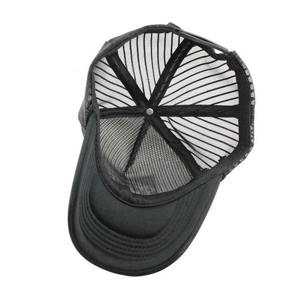 [FLB] 2019 Hip Hop Black leopard Print Curved Baseball Caps Summer Mesh Snapback Hats For Women Men casquette Trucker Cap 10