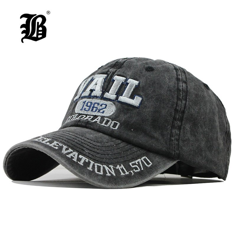 Skull Bunny Ears Skull Pirate Unisex Baseball Cap Cotton Denim Hot Adjustable Sun Hat for Men Women Youth Black