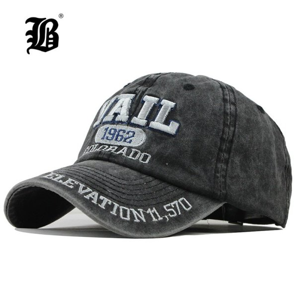 [FLB] New Washed Cotton Baseball Cap 2019 Snapback Hat For Men Women Dad Hat Embroidery Casual Cap Casquette Hip Hop Cap F311 1