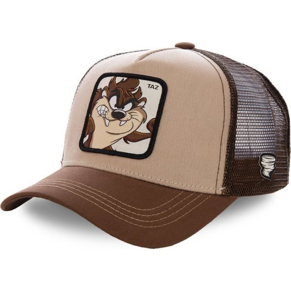 2020 High Quality  Animal TAZ Embroidery 6 Colours Snapback PICCOLO Cotton Baseball Cap Men Women Hip Hop Dad Mesh Hat Trucker Hat 1