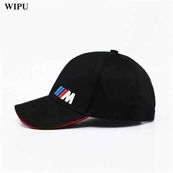 Men Fashion Cotton Car logo M performance Baseball Cap hat for bmw M3 M5 3 5 7 X1 X3 X4 X5 X6 330i Z4 GT 760li E30 E34 E36 E38 6