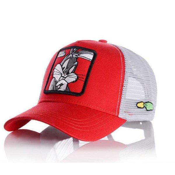 2020 New Fashion Baseball Cap Women Men Breathable Mesh Caps Unisex Snapback Hat Embroidery Animals Hip Hop Hat Bone 2