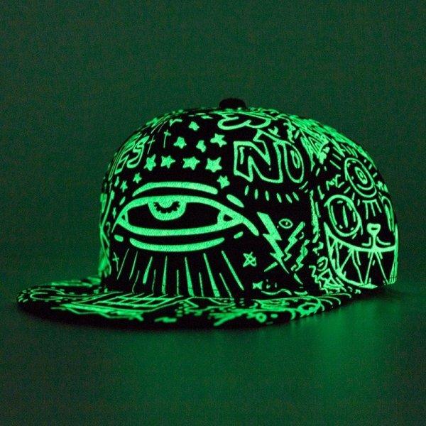 2020 New Fashion Fluorescence Baseball Cap Women Men Snapback Caps Luminous Gorras Sport Casquette Hip Hop Cap Hat Drop Shipping 2