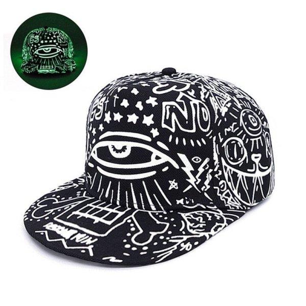 2020 New Fashion Fluorescence Baseball Cap Women Men Snapback Caps Luminous Gorras Sport Casquette Hip Hop Cap Hat Drop Shipping 5