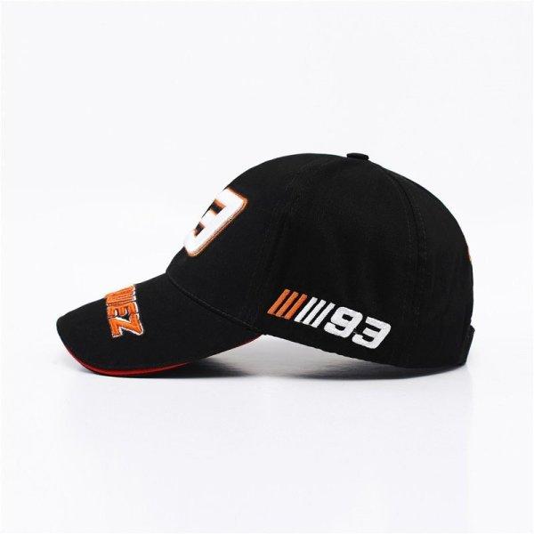 New Snapback Caps Wholesale  Embroidery Baseball Cap Hat Motorcycle Racing 93 Baseball Cap For Men 2