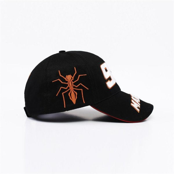 New Snapback Caps Wholesale  Embroidery Baseball Cap Hat Motorcycle Racing 93 Baseball Cap For Men 6