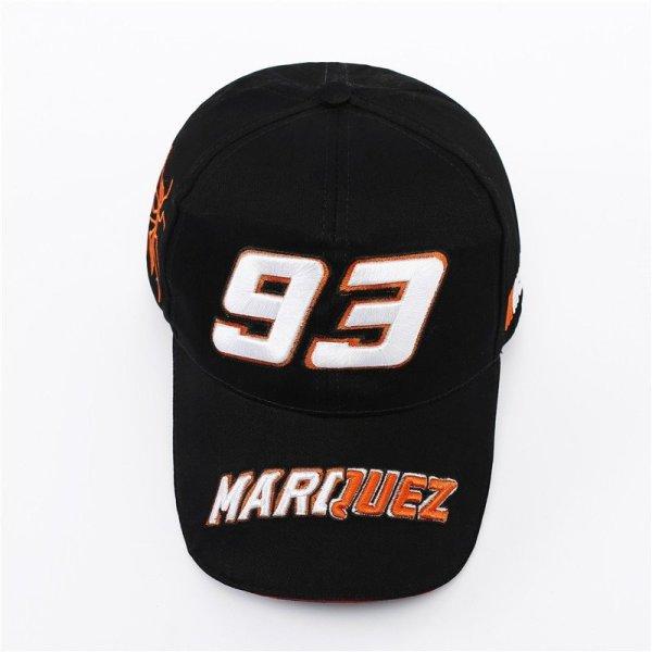 New Snapback Caps Wholesale  Embroidery Baseball Cap Hat Motorcycle Racing 93 Baseball Cap For Men 4