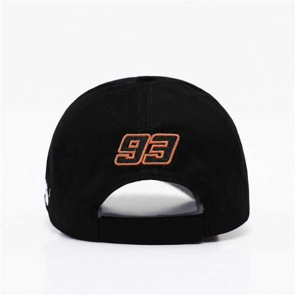 New Snapback Caps Wholesale  Embroidery Baseball Cap Hat Motorcycle Racing 93 Baseball Cap For Men 10