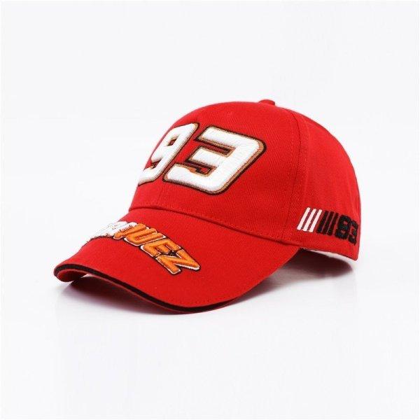 New Snapback Caps Wholesale  Embroidery Baseball Cap Hat Motorcycle Racing 93 Baseball Cap For Men 6