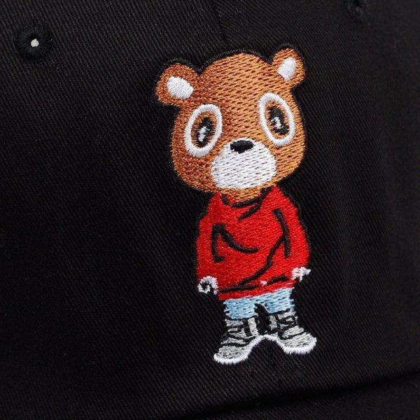 Newest Bear Dad Hat Lovely Baseball Cap Summer For Men Women Snapback Caps Unisex Exclusive Release Hip Hop Kanye West Ye Hat 8