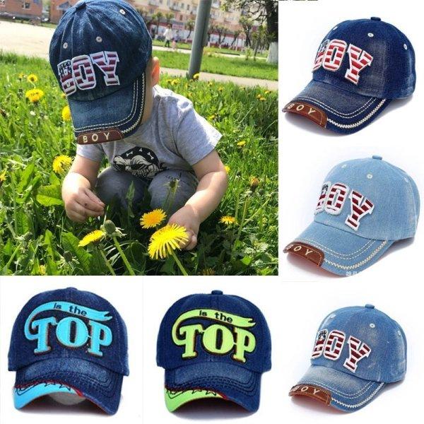 TOP BOY Baby Baseball Caps kids Snapback Hip Hop Cap Boys Girls Summer Sun Hats gorras planas enfants casquette gorras czapka 1