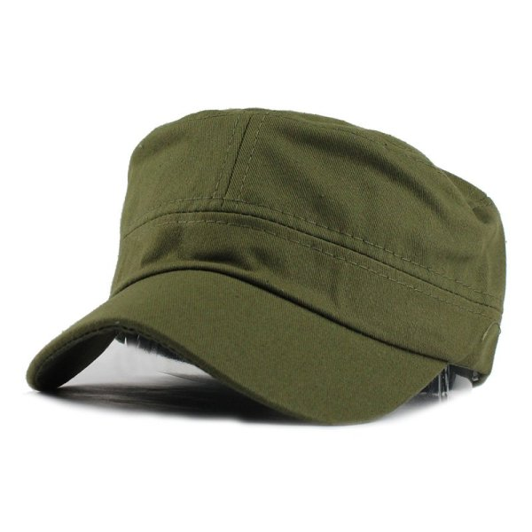 FETSBUY Adult Gorras High quality Washed Cotton Adjustable Solid Color Military Hat Unisex German Army Caps Baseball Hats 6