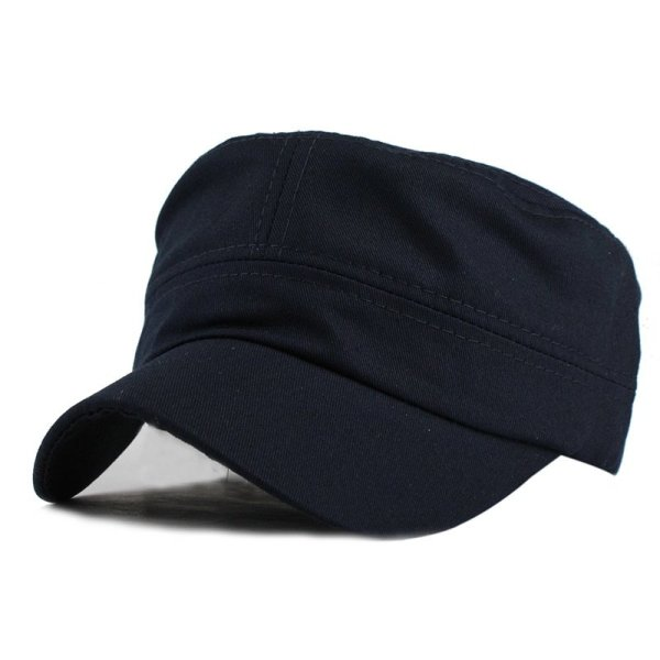 FETSBUY Adult Gorras High quality Washed Cotton Adjustable Solid Color Military Hat Unisex German Army Caps Baseball Hats 8