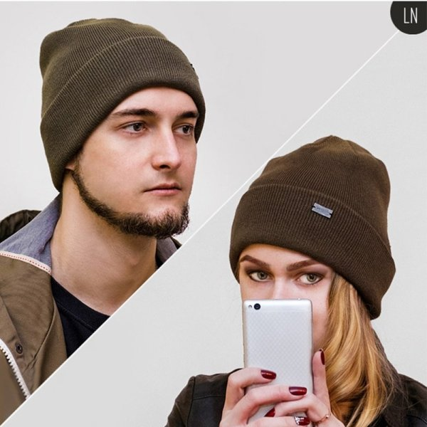 FURTALK Winter Hats for Women Men Knitted Beanie Hat Cap for Girls Female and Male Skullies Couples Stocking Hats Cap 12