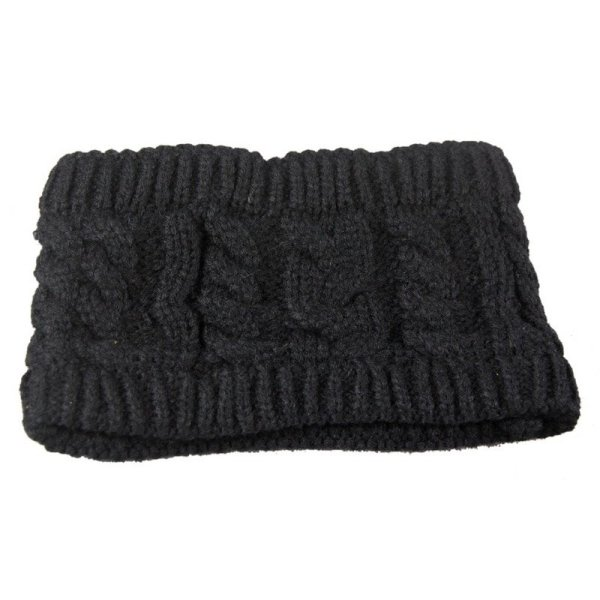 NIBESSER Fashion Snowboard Warm Knitted Cap Snap Skullies Bonnet Beanie  No Top Wool Hat Women Multi-purpose Hat 10