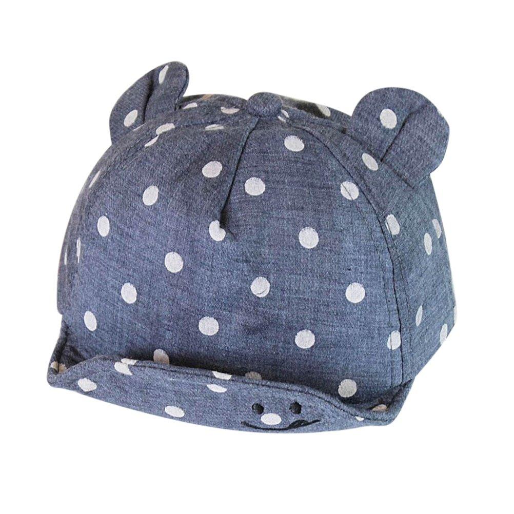 Baby Boy Girls Hat Winter Hat Toddler Children Sport Snapback Cap Baseball Caps