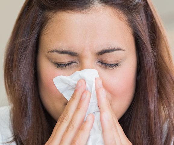 Nase putzen oder aufheben