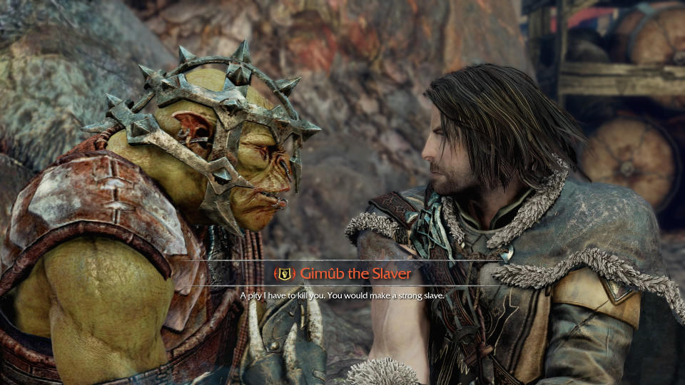Meeting an Orc