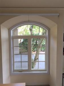 arched double casement