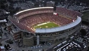 If you're a Black Bear Rebel Thingy fan younger than 25, you've never seen an Ole Miss win in this stadium.