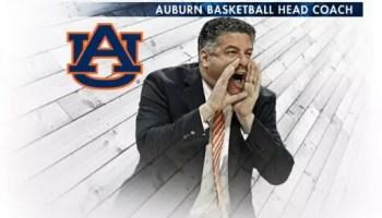 Auburn Basketball Coach Bruce Pearl's Twitter image.