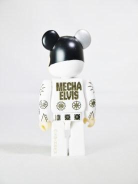 Bearbrick 100 S33 Artist 100% Secret Meca Elvis 06