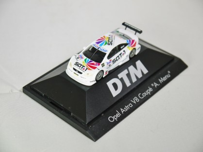 Herpa GmbH - 1-87 Motorsport Collection DTM Opel Astra V8 Coupe A. Menu No 16 04