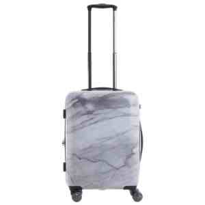 Calpak Astyll Carry-On White Marble