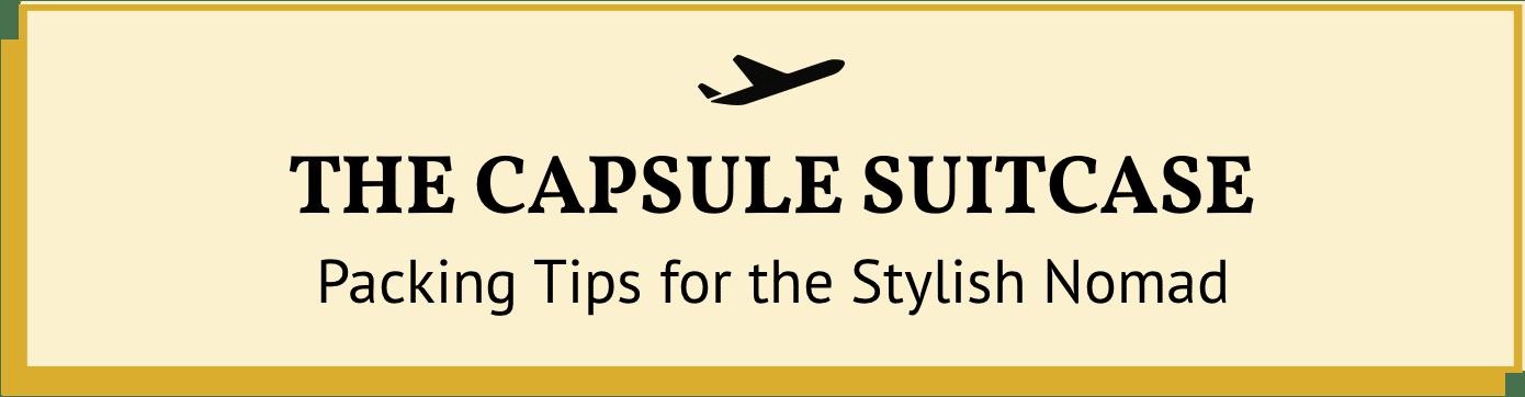 The Capsule Suitcase