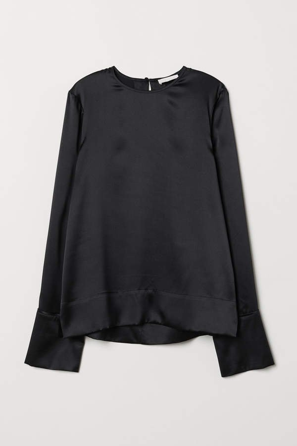 H&M silk tops