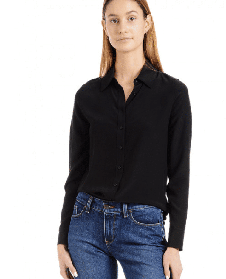 mott and bow silk blouses