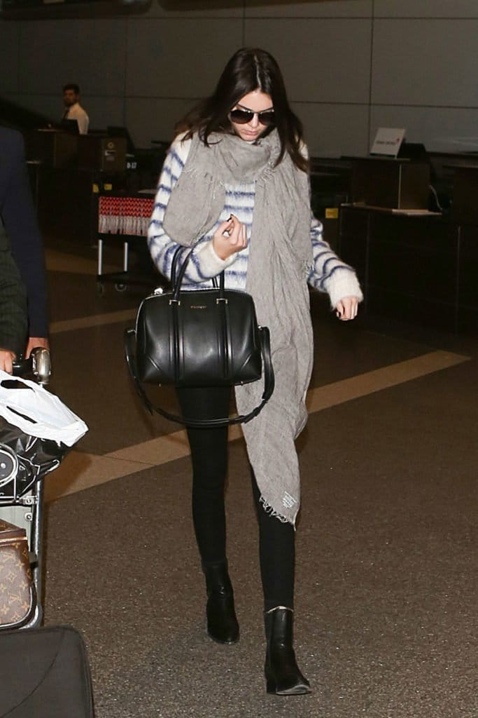 chic travel celebrity style