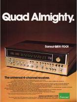 Sansui QRX-7001 Quad Almighty (1975)