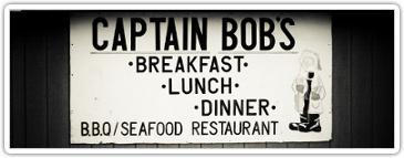 captain bob's sign
