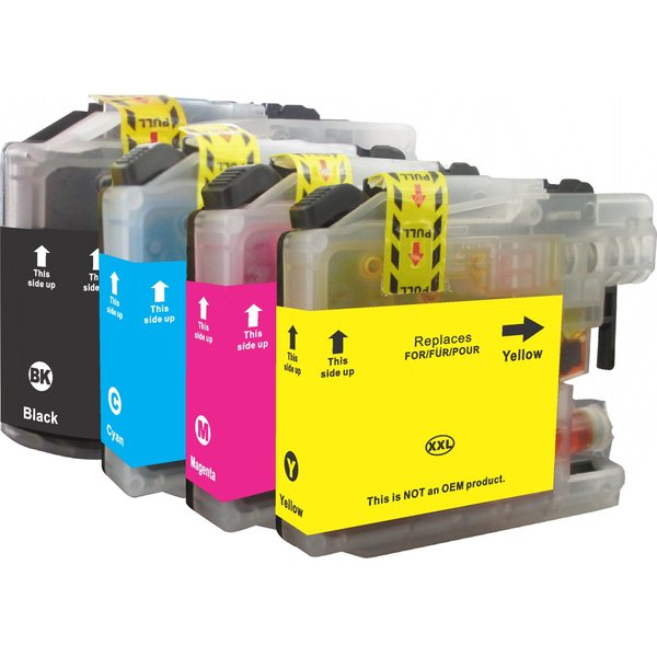 Brother LC 137 / LC 135 & Brother LC 139 / LC 135 Set ink cartridges