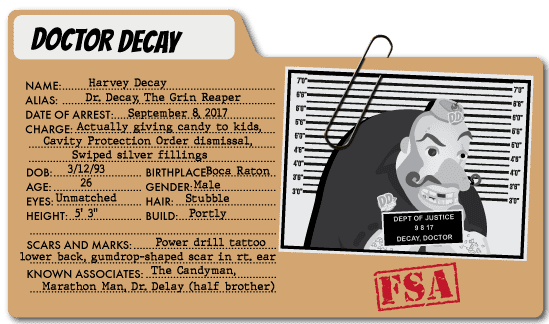 Doctor Decay - Healthcare Expenses Villain