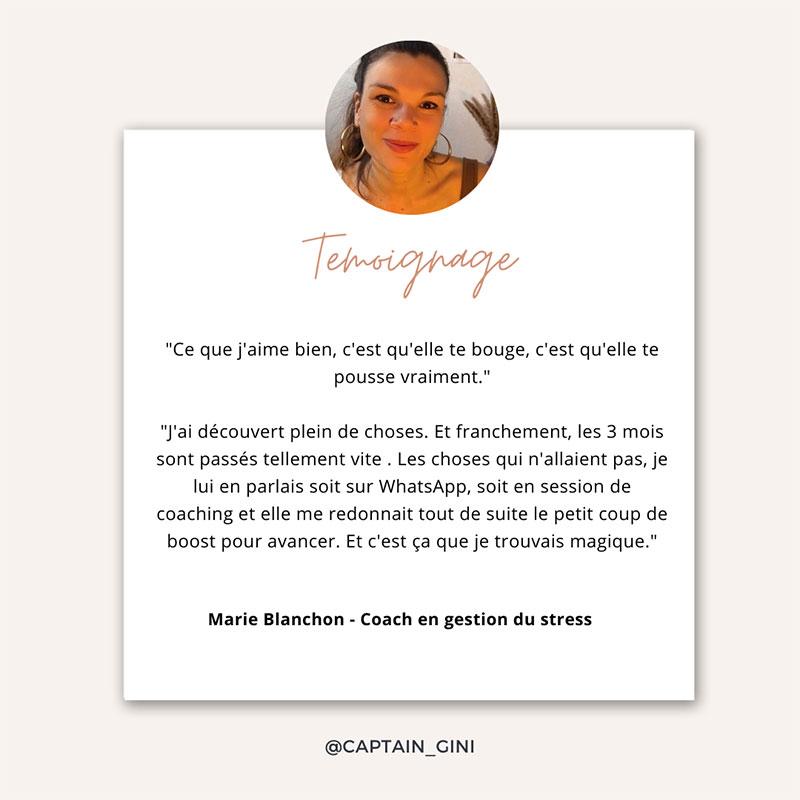 Marie Coach anti stress